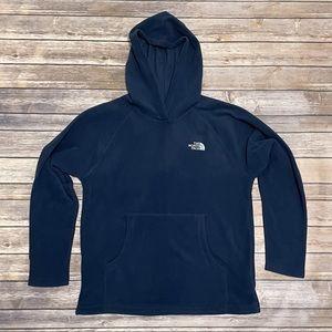 North Face Boys Hooded Fleece Pullover Pocket